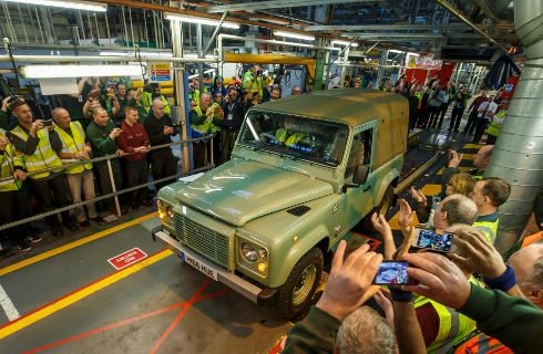 La Land Rover Defender dice adiós