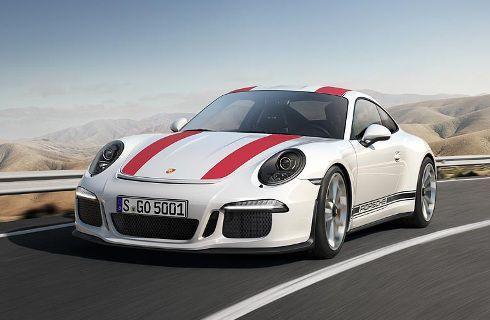 Porsche 911 R: alma de competición para la ruta