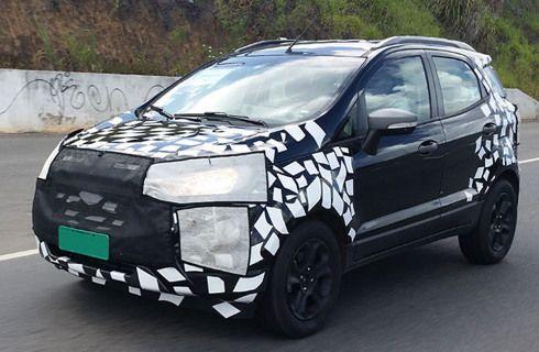 Ford prepara cambios para la EcoSport