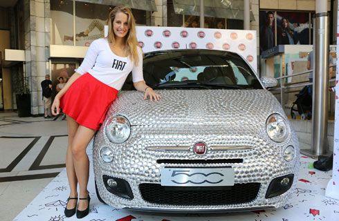 Fiat festeja el Día de la Mujer con un 500 Brillante