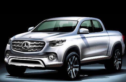 La pick up de Mercedes-Benz, más cerca de la realidad