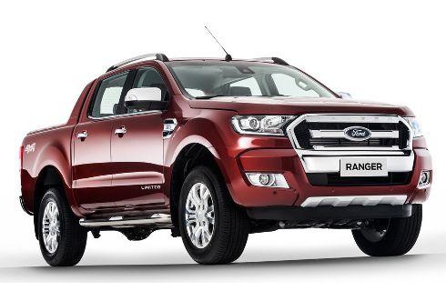La renovada Ford Ranger debuta en Brasil