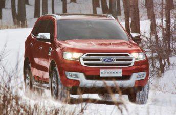 El Ford Everest puso primera en Tailandia