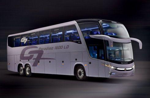 Marcopolo present dos nuevos modelos de autobuses mega autos - Autobuses de dos pisos ...