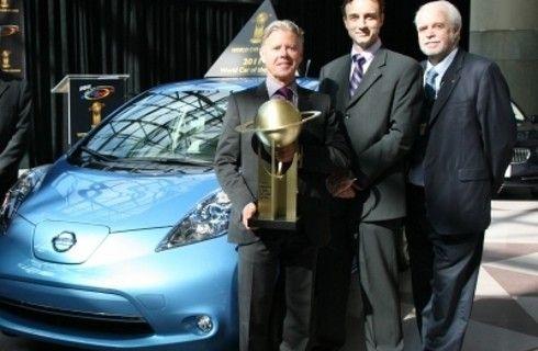Nissan Leaf elegido Auto Mundial del Año