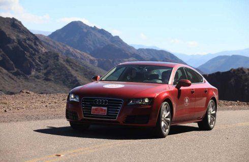 El Audi A7 Sportback se pasea por Salta