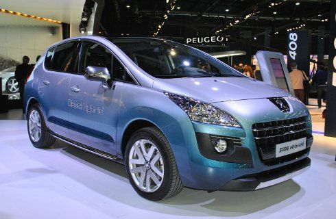 El adelanto de Peugeot, nuevo 3008 Hybrid4
