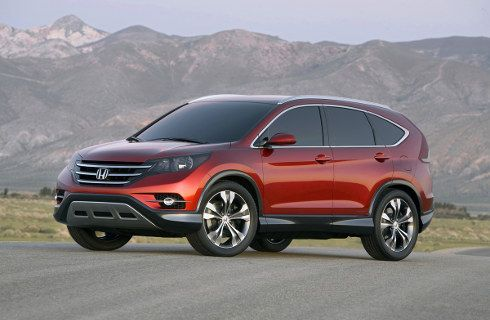 Honda revela el futuro de la CR-V