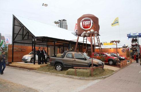 Fiat, el mejor stand en La Rural