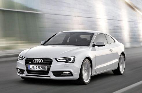 El Audi A5 Coupé con nuevo motor