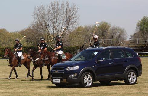 Chevrolet presentó la renovada Captiva