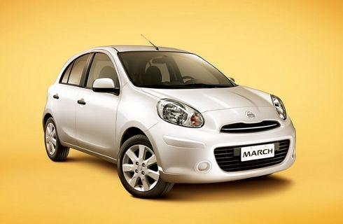 Nissan ya vende en Brasil el March con motor 1.6