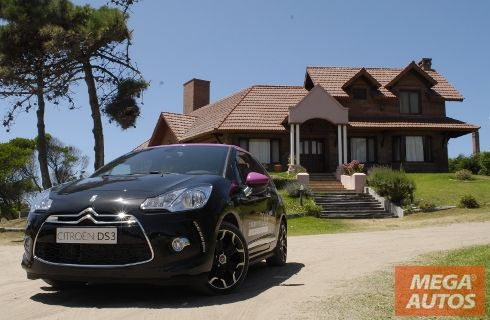 Una vuelta en el DS3 Fucsia, el Fashion Car de Citroën