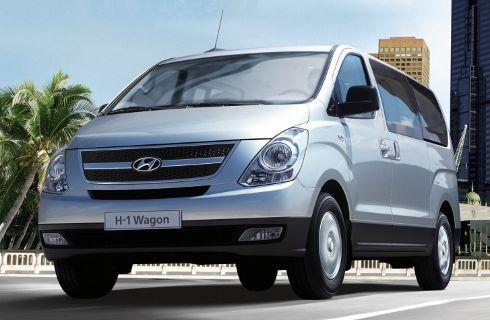 La Hyundai H1 con nuevo motor