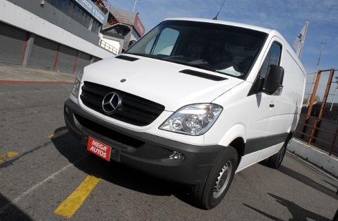 Mercedes-Benz realizó pruebas de la nueva Sprinter