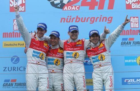 Primera victoria de Audi en las 24 Horas de Nürburgring