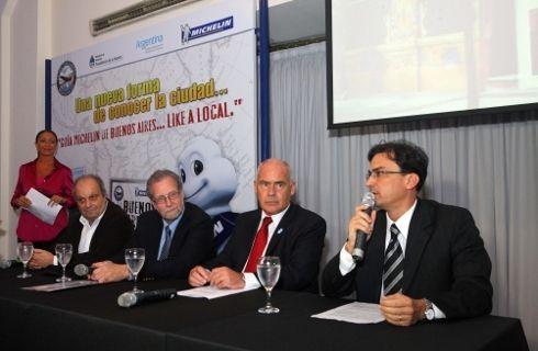 Michelin presentó la guía turística de Buenos Aires