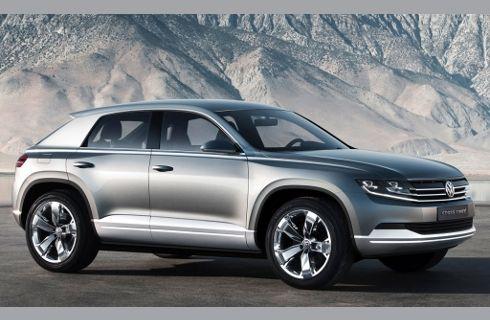 VW presentará un SUV inédito en San Pablo