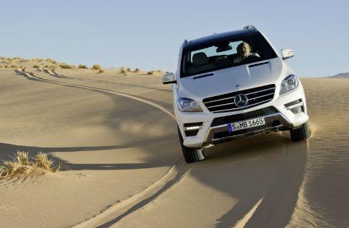 El nuevo Mercedes-Benz Clase M, presente en Pinamar