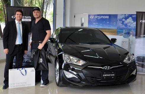 Hyundai vendió 1.000 Genesis Coupé en Argentina