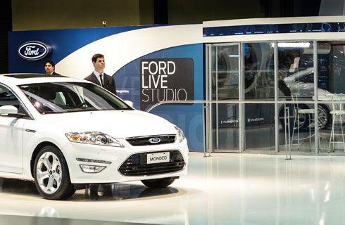 """""""Ford Live Studio"""" en el Salón de Buenos Aires"""