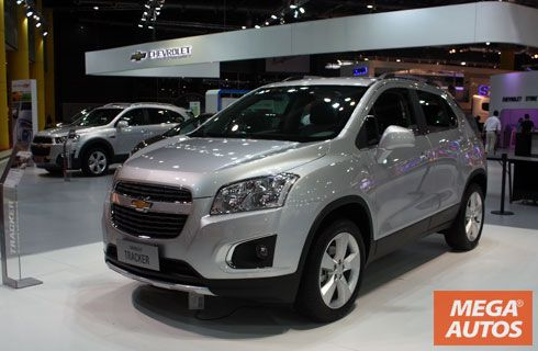 La Chevrolet Tracker llegará al país en Agosto