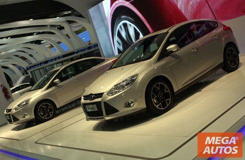 Nuevos Ford Fiesta, Focus y Kuga en el Salón de Buenos Aires