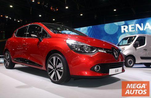 Renault sorprende con el Clio IV y los nuevos Koleos y Logan