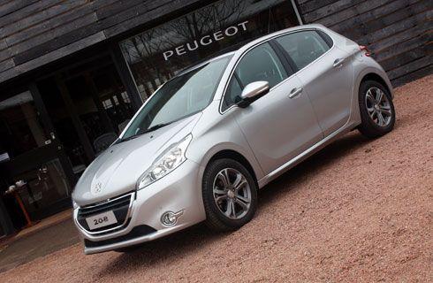 Primer contacto con el Peugeot 208