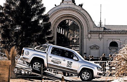 La Amarok fue la pick-up más solicitada en el Salón de Buenos Aires