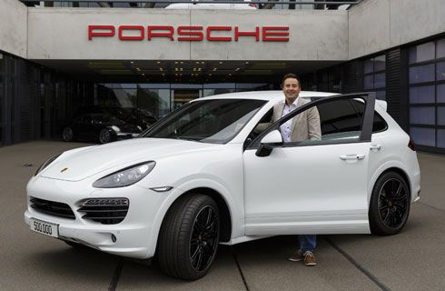 Porsche fabricó el Cayenne 500.000 en Leipzig