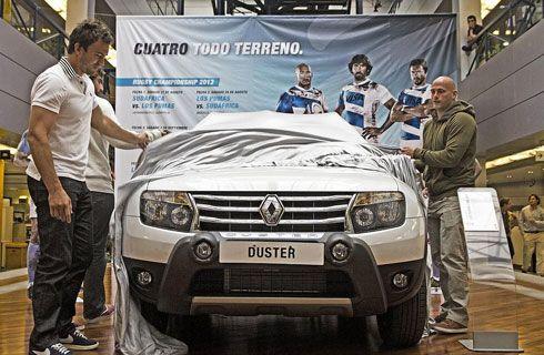 Renault presentó la serie limitada Duster Los Pumas