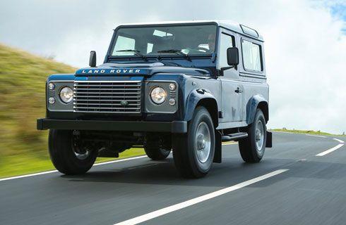 Una Land Rover Defender de Colección