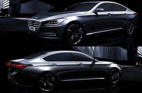 El nuevo Hyundai Genesis sedan tendrá tracción integral