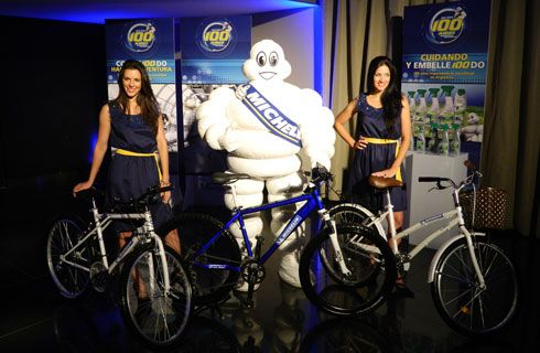 Michelin festejó sus 100 años en el país