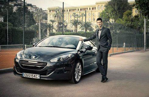 Novak Djokovic es el nuevo embajador de Peugeot