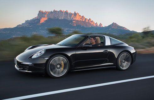 El nuevo Porsche 911 Targa se presentó en Detroit
