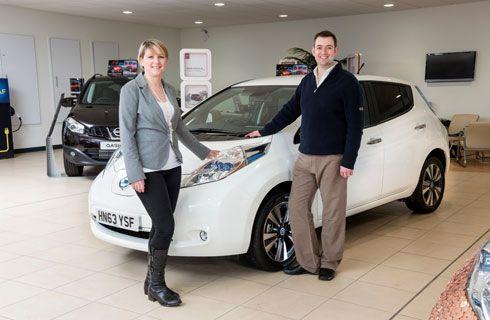 Las ventas del Nissan LEAF alcanzan las 100.000 unidades