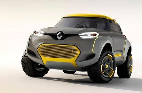 Renault Kwid Concept, viene con un drone volador