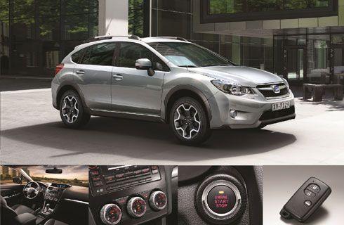 El Subaru XV 2014 agrega equipamiento de confort
