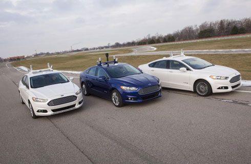 Ford avanza en la investigación sobre manejo autónomo