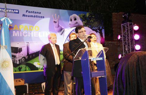 Michelin inauguró una nueva planta de recapado en Misiones