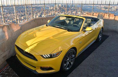 Ford lleva al Mustang al piso 86º del Empire State