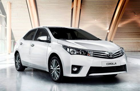 Toyota vendió más de 1,2 millones de unidades del Corolla en 2013