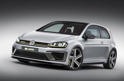 Volkswagen presentó un Golf de 400 caballos
