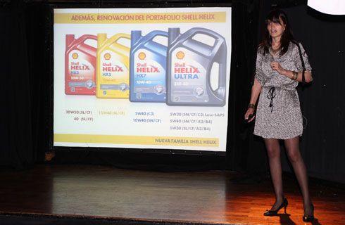 Shell Helix presentó nuevos lubricantes con novedosa tecnología