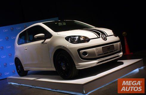 El Volkswagen up! se lanzó en Argentina, desde $111.900