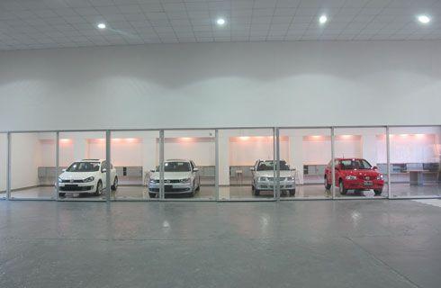 Dietrich remodeló su centro de entrega Volkswagen de Palermo