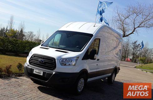 La nueva Transit de Ford llegó a la Argentina