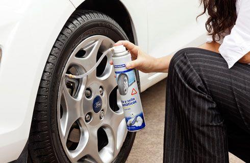 """Michelin presenta el """"Infla y Sella"""" de neumáticos"""